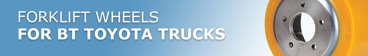 BT Toyota Forklift Truck Wheels