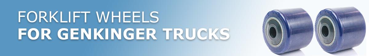 Genkinger Forklift Truck Wheels