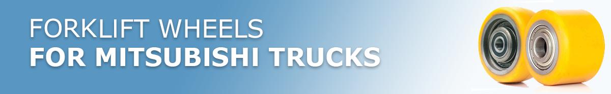 Mitsubishi Forklift Truck Wheels
