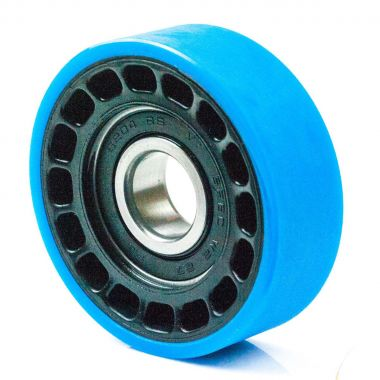 75/23.5/14/20 Polyurethane Escalator Roller with 6204 2RS Ball Bearing