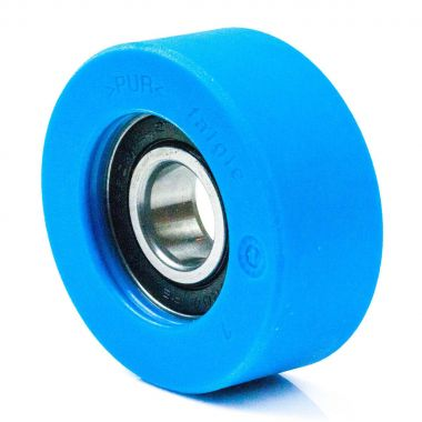 70/25/14/20 Polyurethane escalator roller with 6204 2RS Ball Bearing