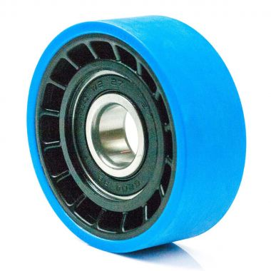 76/25/14/20 Polyurethane Escalator Roller with 6204 2RS Ball Bearing