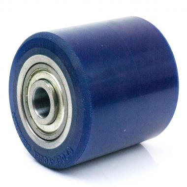 82/98/102/17 POLYURETHANE ROLLER WITH 6303 ZZV BALL BEARINGS