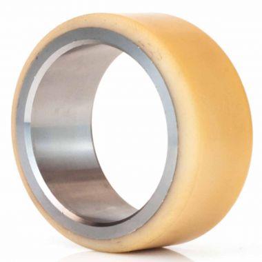 100/32/75 Vulkollan Press On Tyre