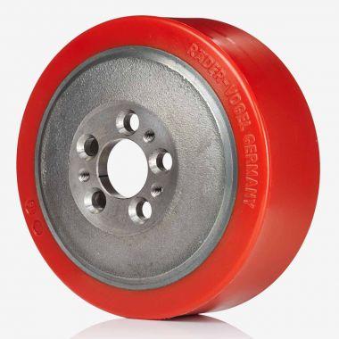 5 Stud Pevodyn SOFT Wet Drive Wheel - Domed - 78 Shore A