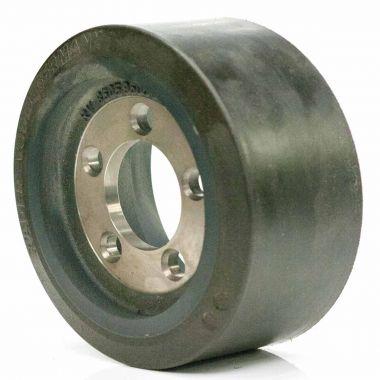 250/100/200/80.2 5 Stud Vulkollan Drive Wheel - Wet Grip - QUARTZ